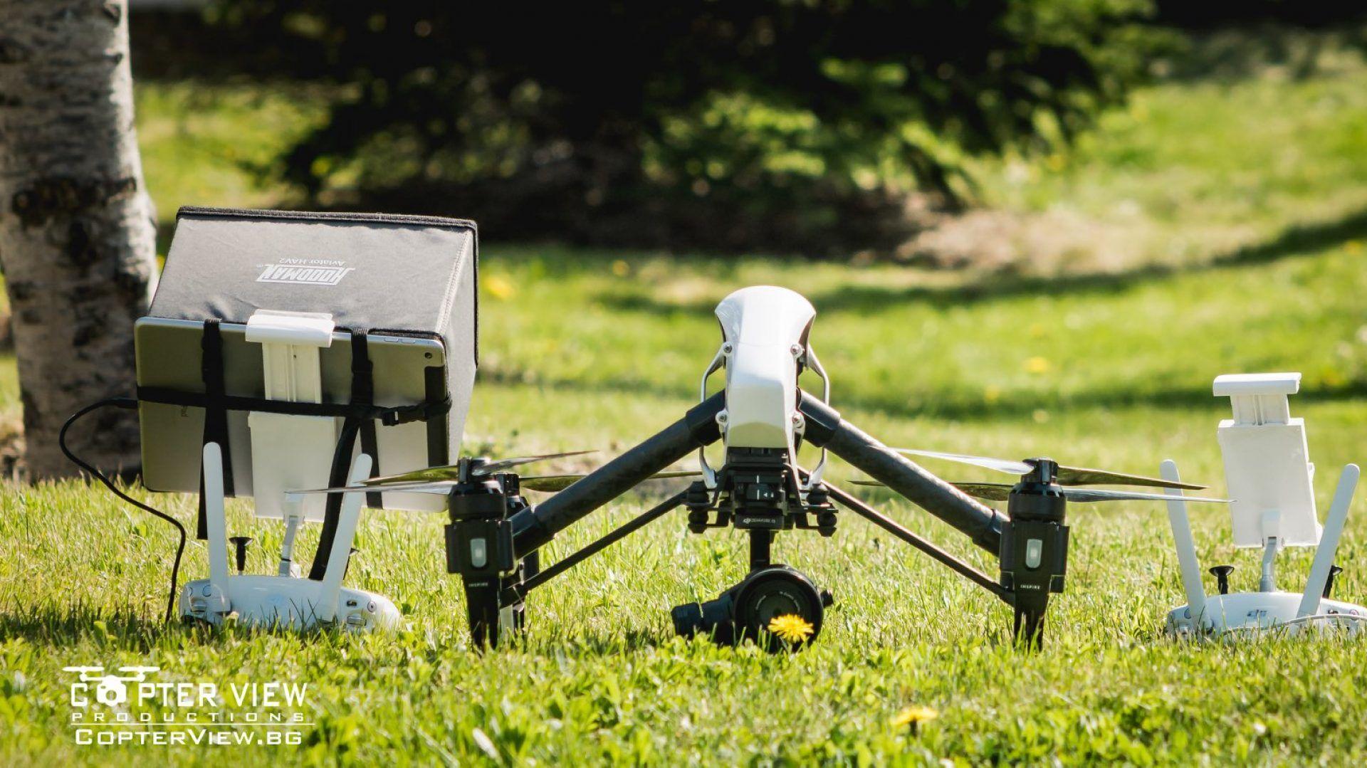Професионално въздушно фото и видеозаснемане в 4k