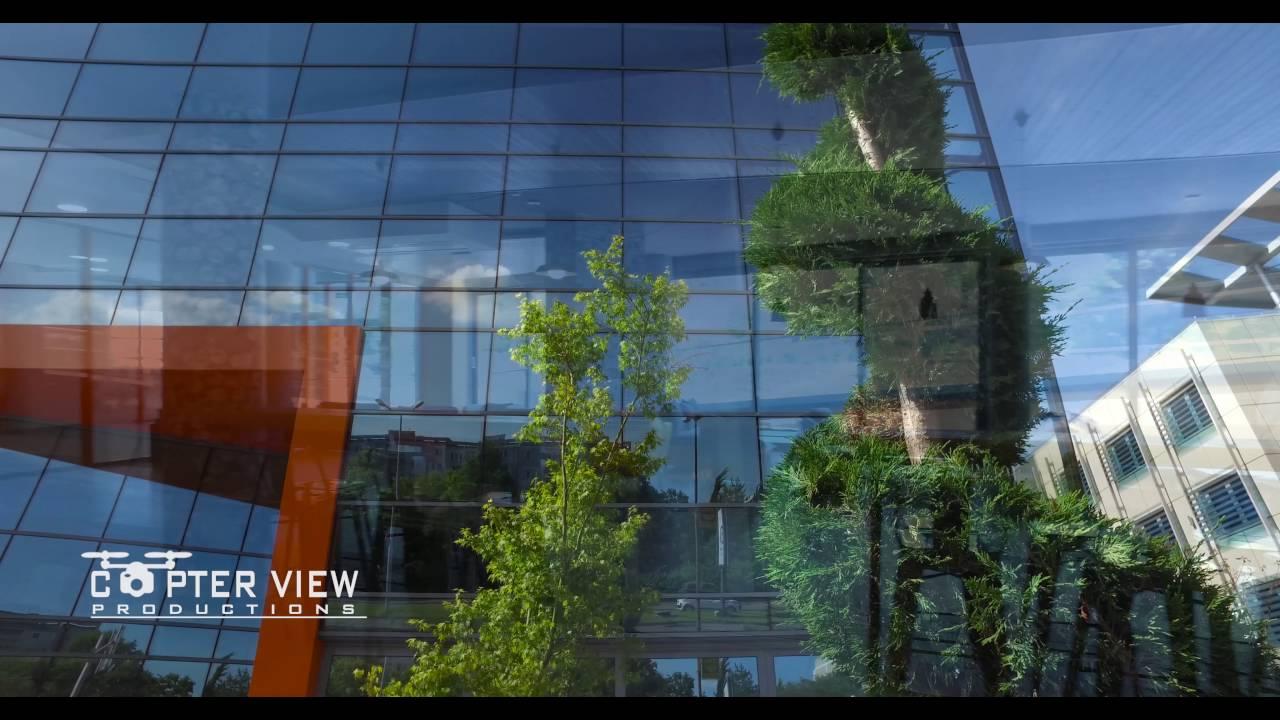 Smart Center Burgas - Дрон видео заснемане от CopterView.bg